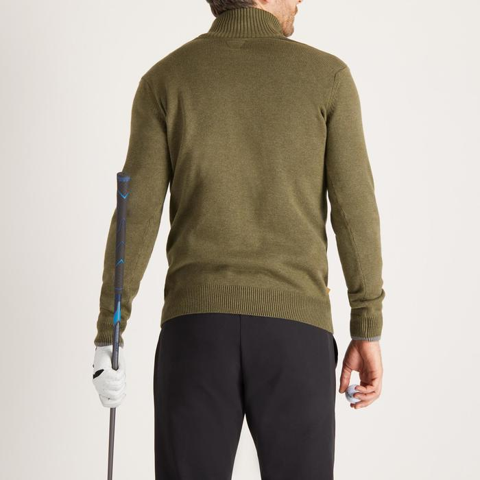 MEN'S NAVY COLD-WEATHER GOLFING PULLOVER - 1488886