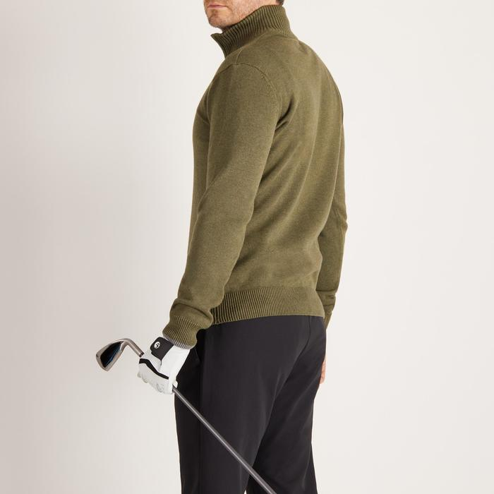 MEN'S NAVY COLD-WEATHER GOLFING PULLOVER - 1488887