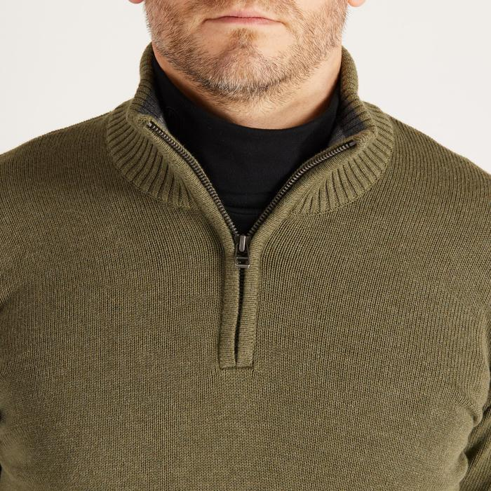 MEN'S NAVY COLD-WEATHER GOLFING PULLOVER - 1488888