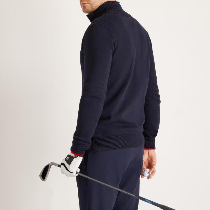 MEN'S NAVY COLD-WEATHER GOLFING PULLOVER - 1488889