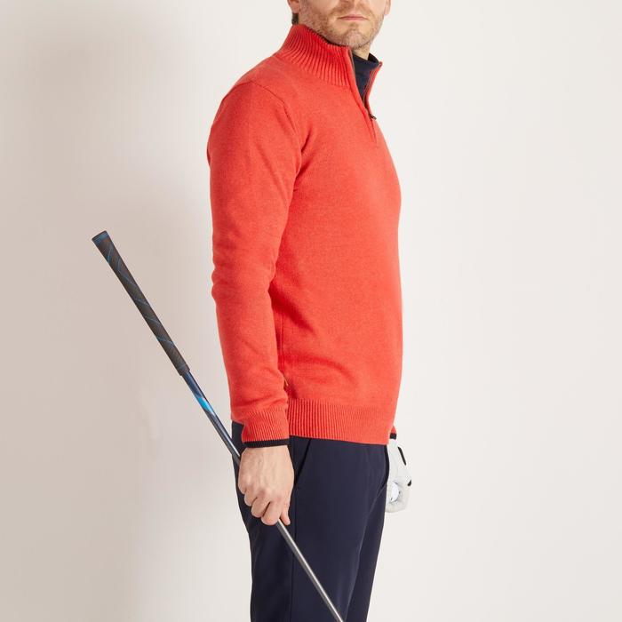 MEN'S NAVY COLD-WEATHER GOLFING PULLOVER - 1488895