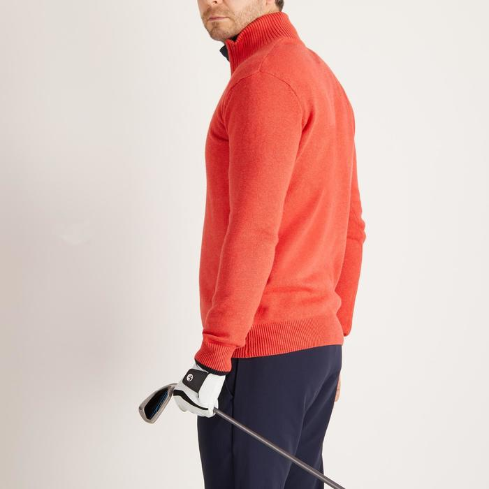 MEN'S NAVY COLD-WEATHER GOLFING PULLOVER - 1488896
