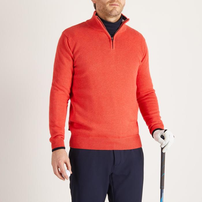 MEN'S NAVY COLD-WEATHER GOLFING PULLOVER - 1488899