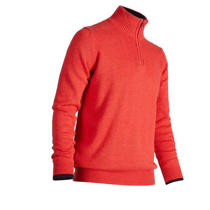 MEN'S NAVY COLD-WEATHER GOLFING PULLOVER - 1488901
