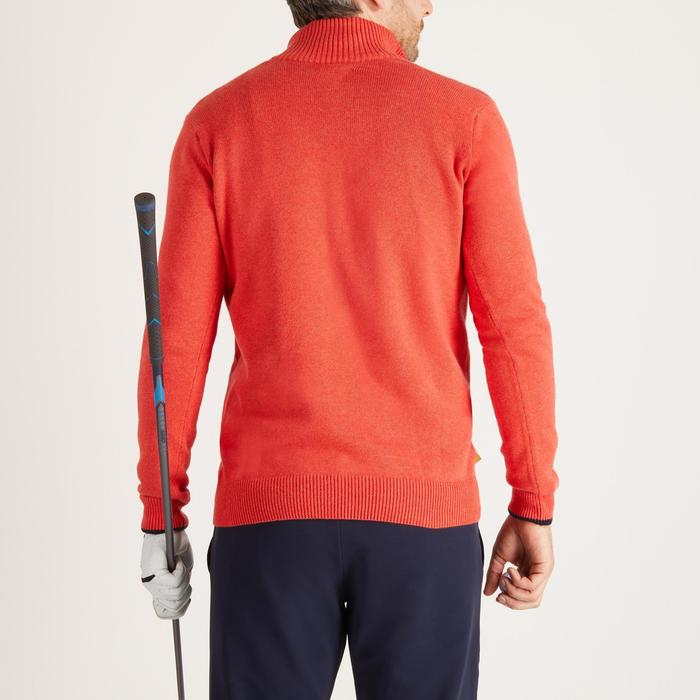 MEN'S NAVY COLD-WEATHER GOLFING PULLOVER - 1488905