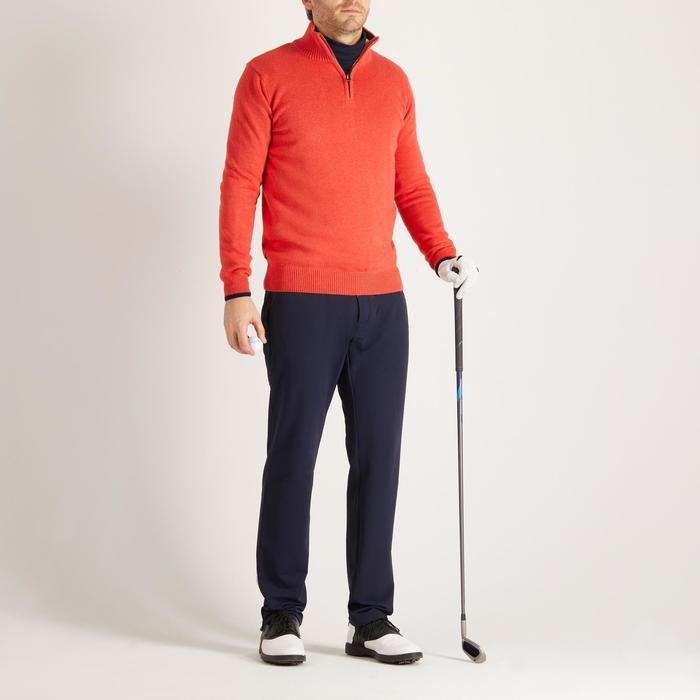 MEN'S NAVY COLD-WEATHER GOLFING PULLOVER - 1488907