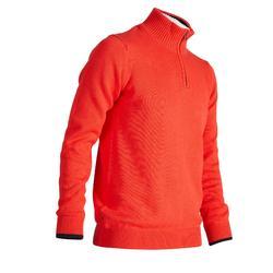Golf Pullover Zipp warm Herren