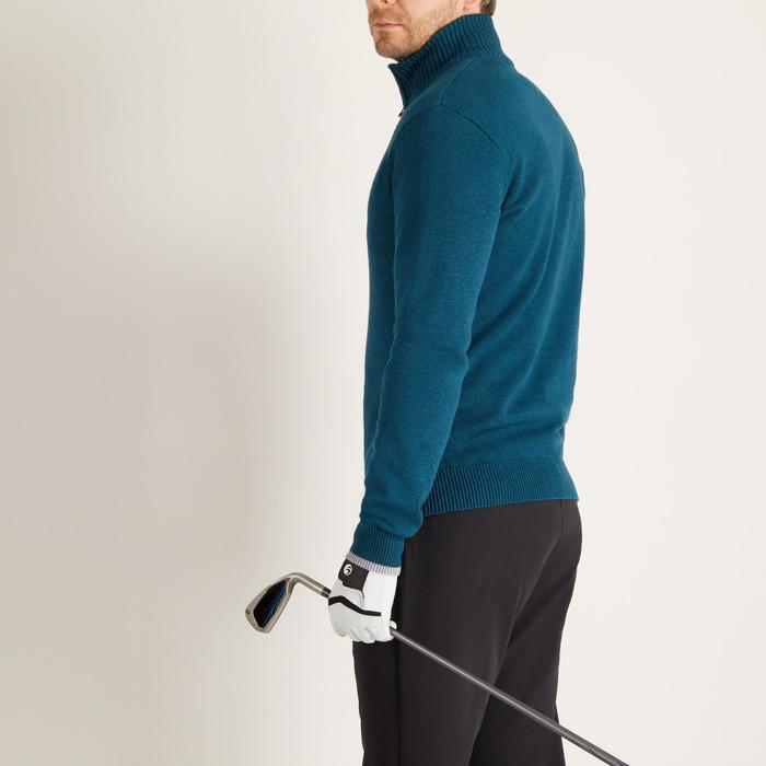 MEN'S NAVY COLD-WEATHER GOLFING PULLOVER - 1488917