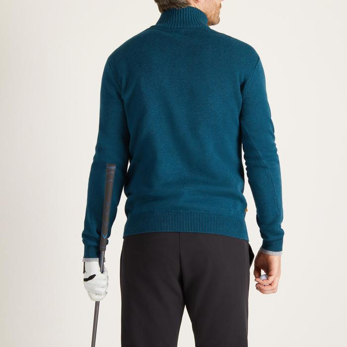 MEN'S NAVY COLD-WEATHER GOLFING PULLOVER - 1488920
