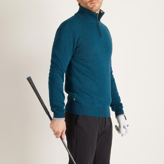 MEN'S NAVY COLD-WEATHER GOLFING PULLOVER - 1488923