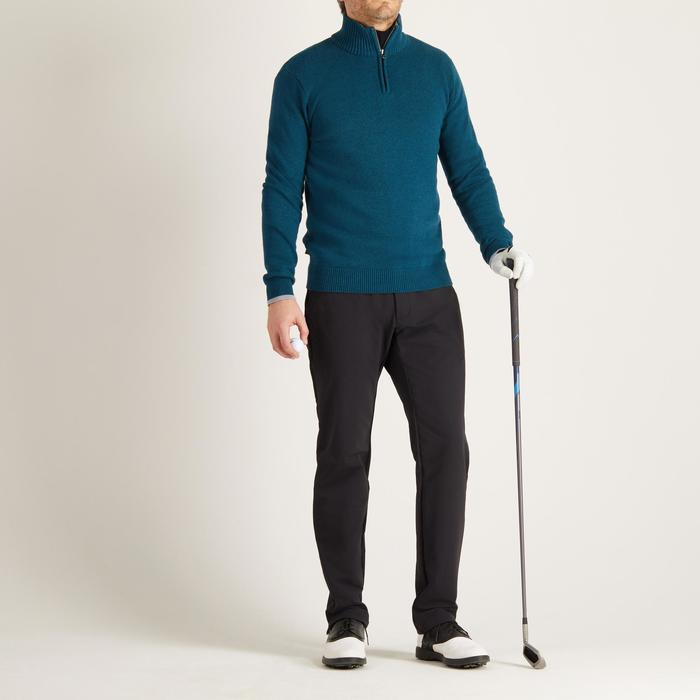 MEN'S NAVY COLD-WEATHER GOLFING PULLOVER - 1488940