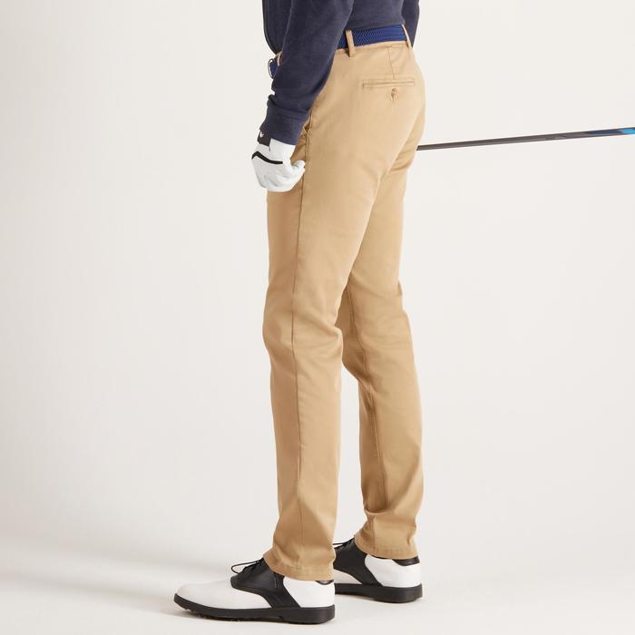 Golfbroek voor heren zacht weer beige