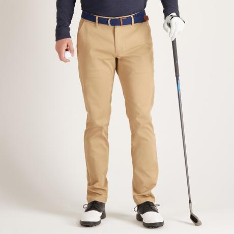 pantalon golf temps tempere beige pour homme inesis golf. Black Bedroom Furniture Sets. Home Design Ideas