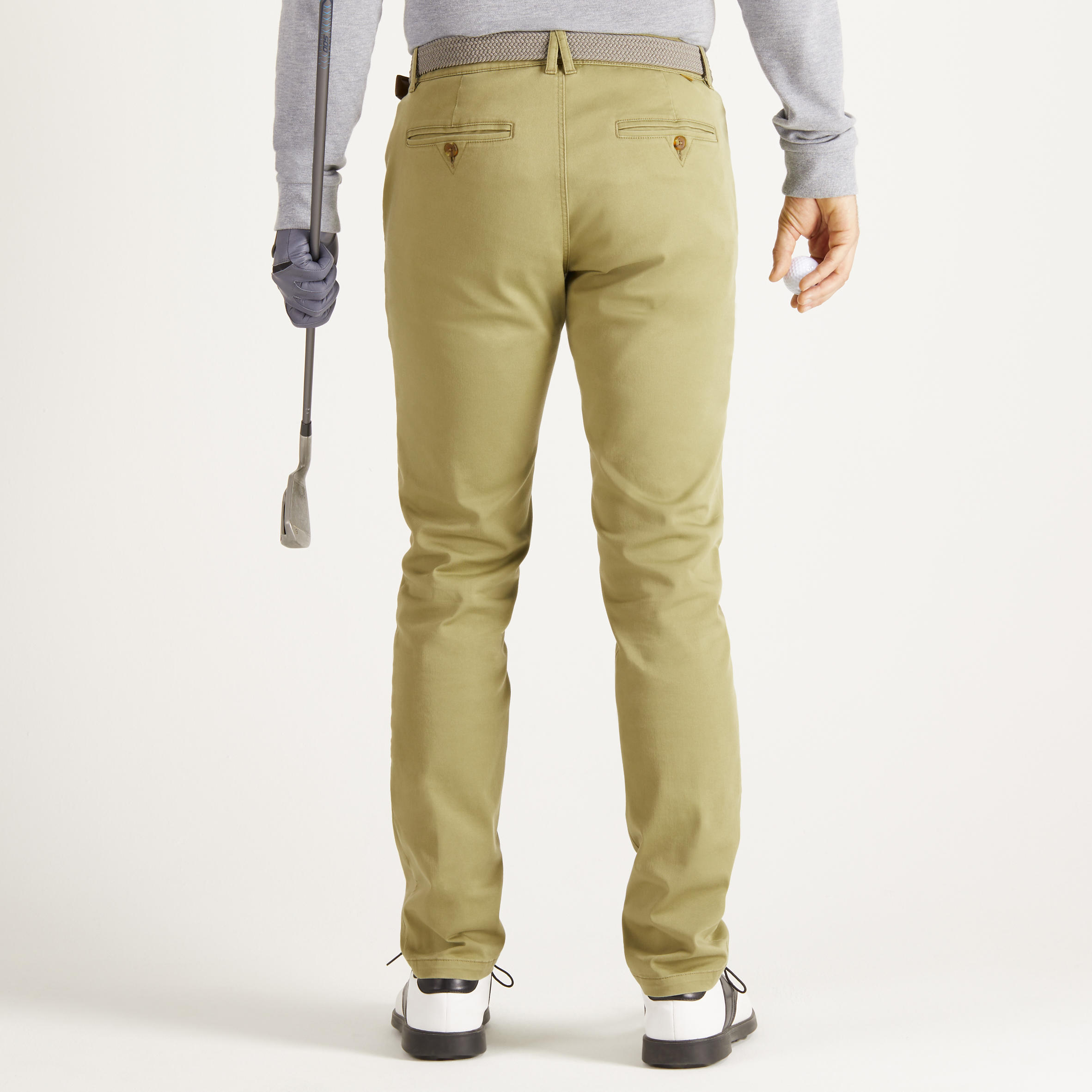 MEN'S MILD WEATHER GOLF TROUSERS KHAKI