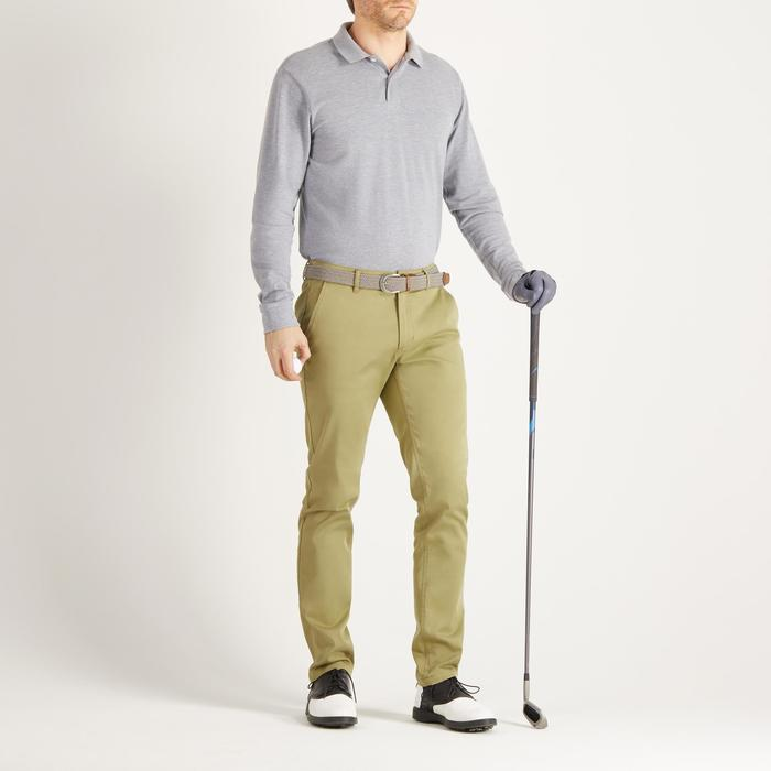Golfbroek voor heren, zacht weer, kaki
