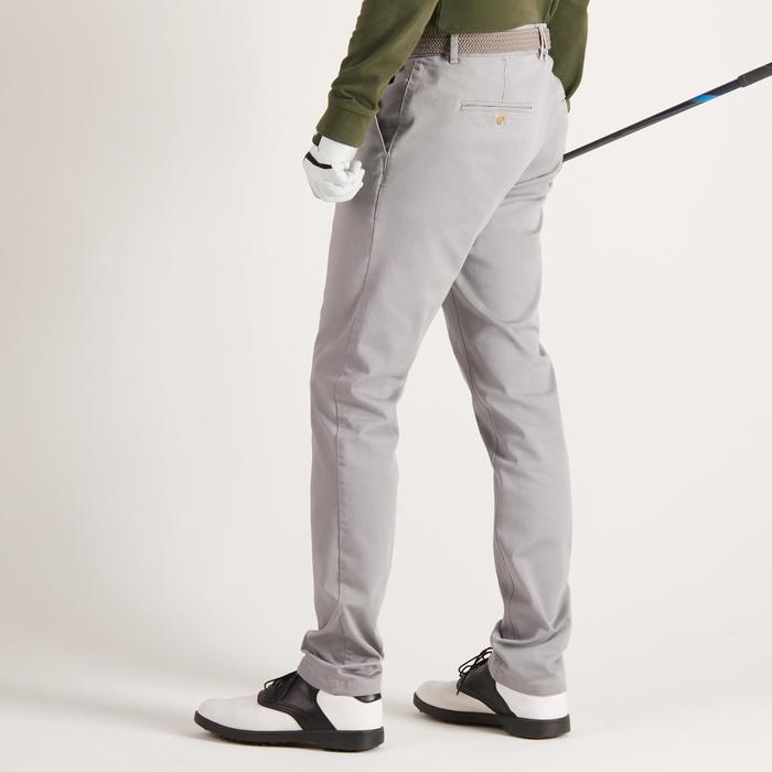 Golfhose Herren hellgrau
