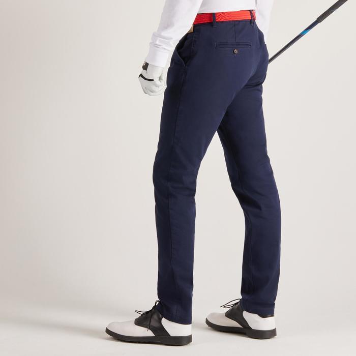 Golfbroek voor heren, zacht weer, marineblauw