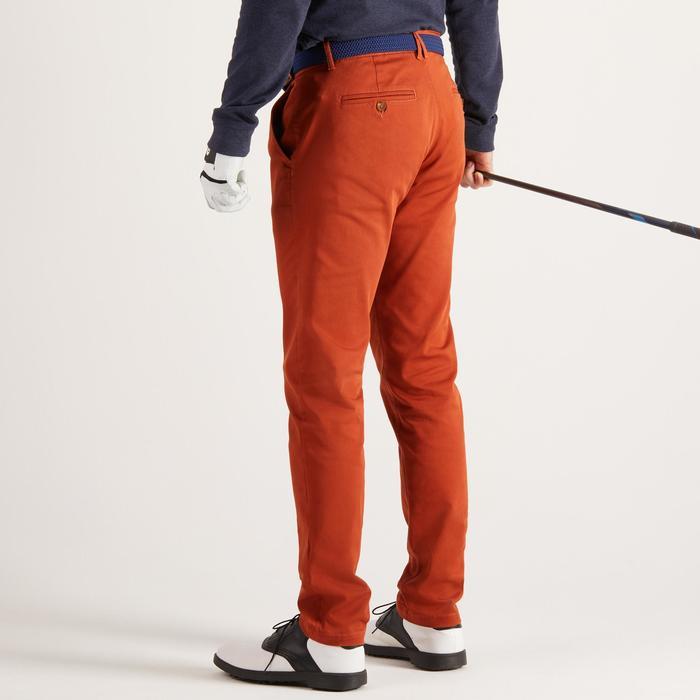Golfhose Herren rostrot