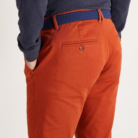pantalon golf temps tempere rouille pour homme inesis golf. Black Bedroom Furniture Sets. Home Design Ideas