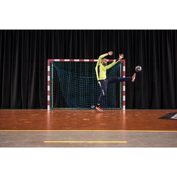 Sweat gardien de handball adulte H500 jaune/ noir