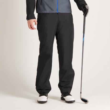 pantalon de pluie golf noir pour homme inesis golf. Black Bedroom Furniture Sets. Home Design Ideas