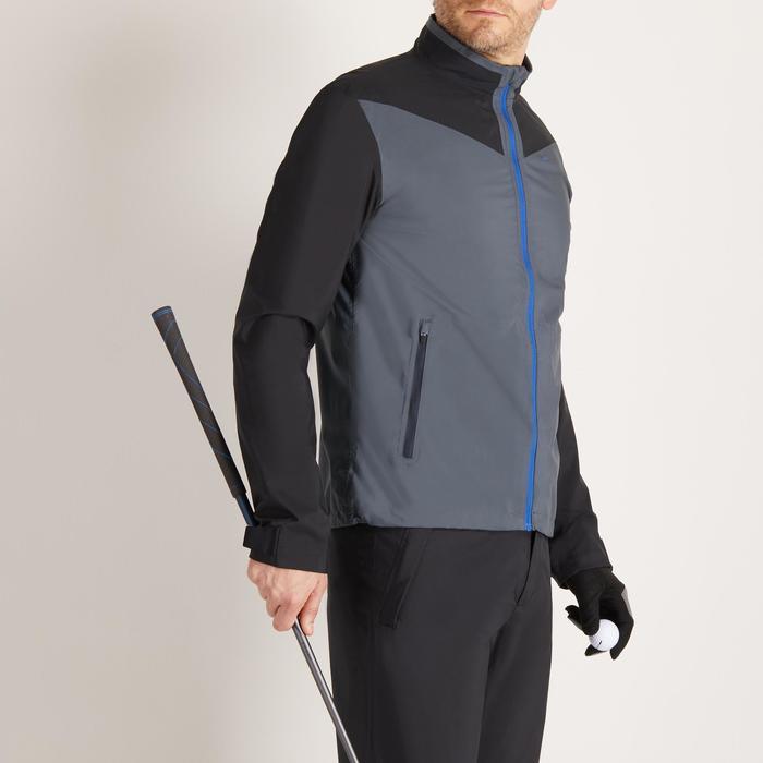 Heren regenjasje voor golf grijs - 1489156