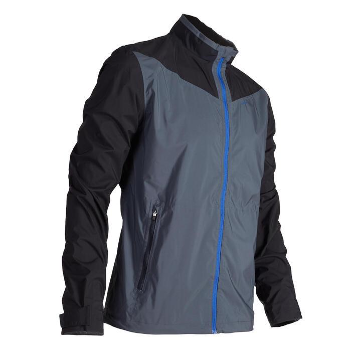 Heren regenjasje voor golf grijs - 1489157