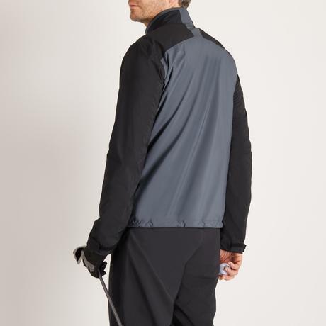 veste de pluie de golf impermeable grise pour homme. Black Bedroom Furniture Sets. Home Design Ideas