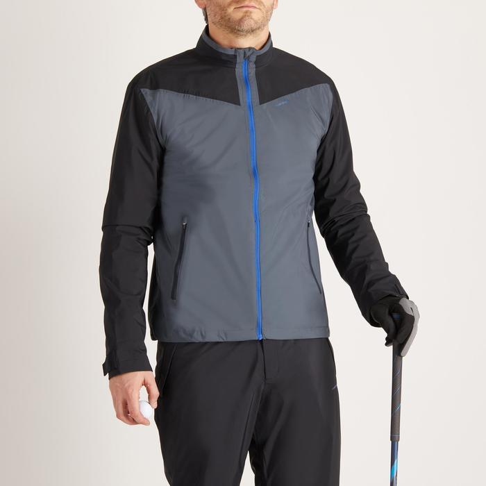 Heren regenjasje voor golf grijs - 1489160