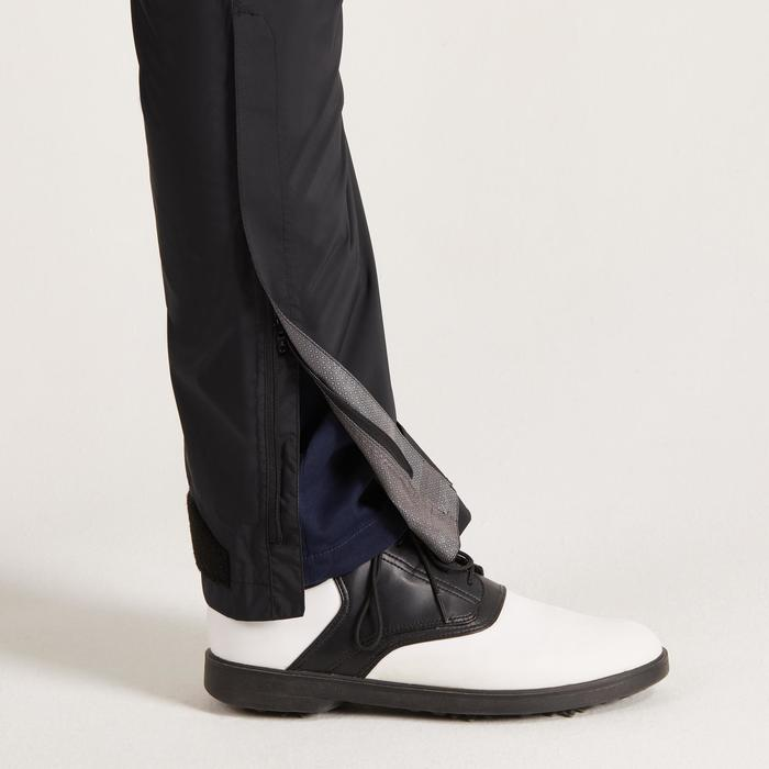 900 Men's Golf Waterproof Overtrousers - Black - 1489170