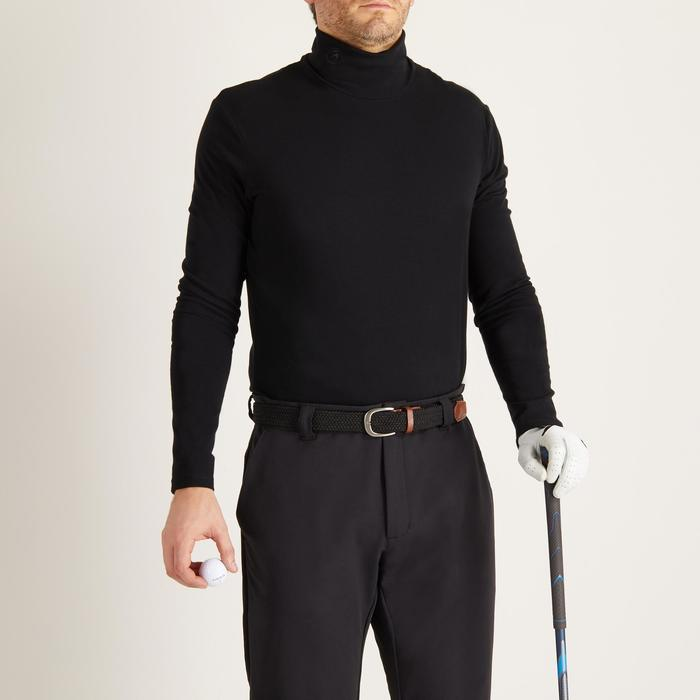 MEN'S BLACK COLD-WEATHER GOLFING VEST