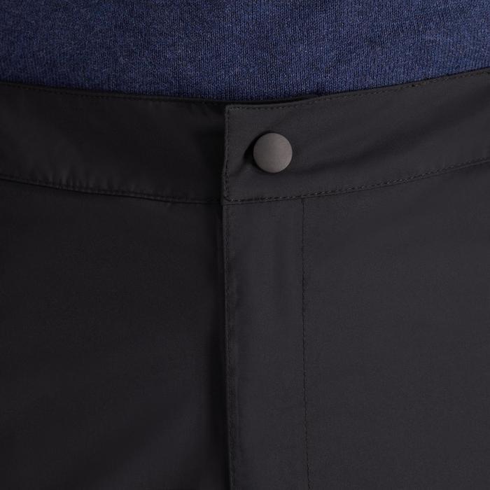 900 Men's Golf Waterproof Overtrousers - Black - 1489176