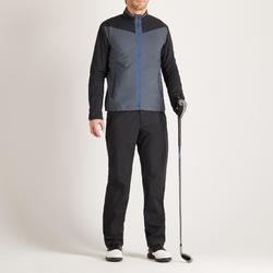 男款高爾夫雨褲-黑色