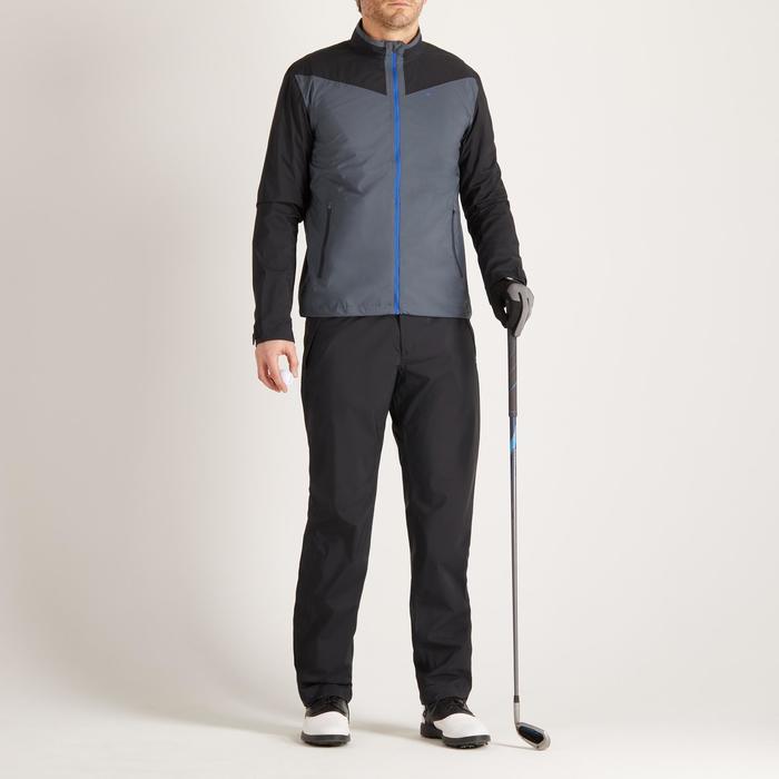900 Men's Golf Waterproof Overtrousers - Black - 1489177