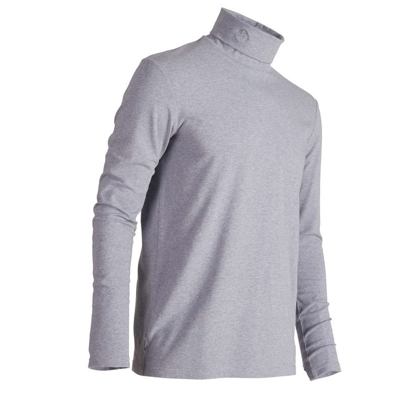 MENS COLD WEATHER GOLF CLOTHING - MEN'S GREY CW GOLFING VEST INESIS