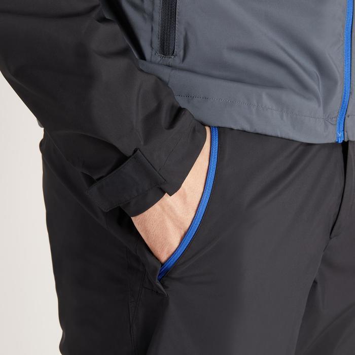 900 Men's Golf Waterproof Overtrousers - Black - 1489182