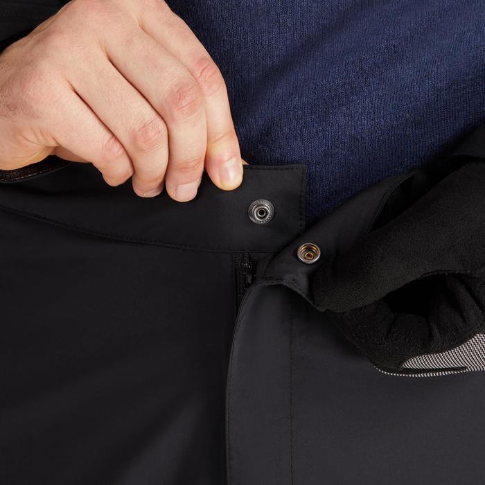 900 Men's Golf Waterproof Overtrousers - Black - 1489189
