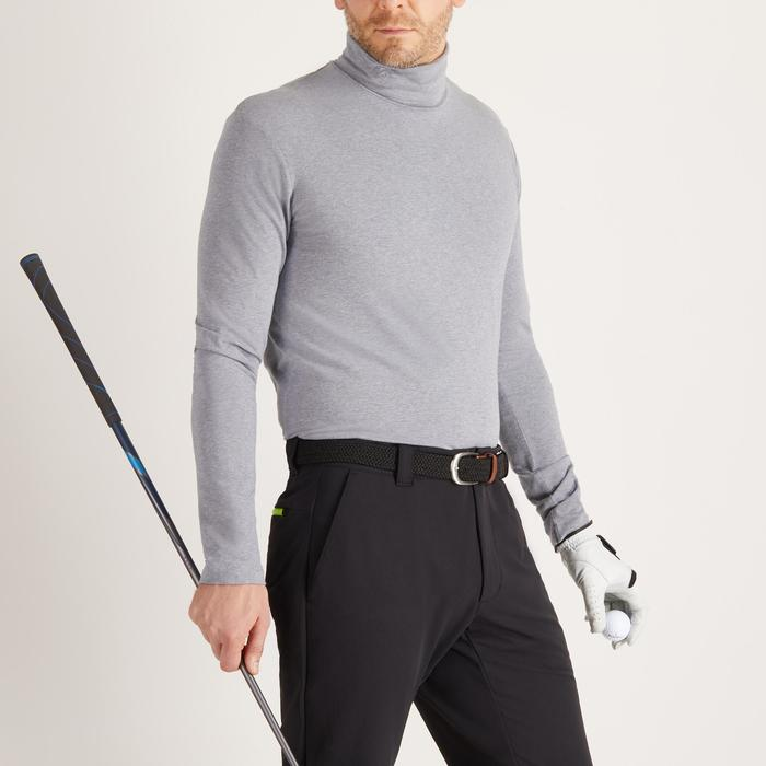 MEN'S GREY COLD-WEATHER GOLFING VEST