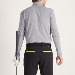 Golf Unterziehpullover Rollkragen warm Herren grau