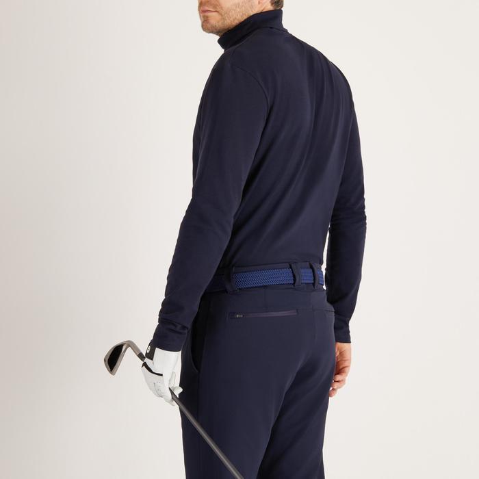 Golf Unterziehpullover Rollkragen warm Herren marineblau