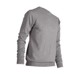 520 男士圓領運動衫 - 麻灰色