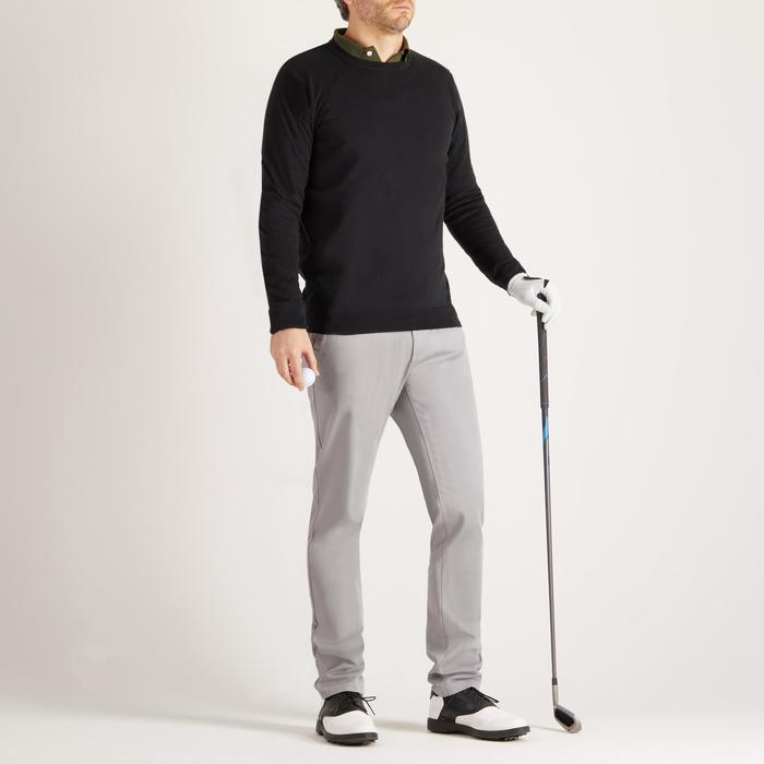 Golf Pullover Rundhals Herren schwarz