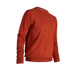 RUST MEN'S MILD WEATHER CREW NECK GOLF PULLOVER