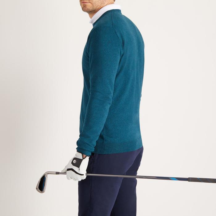 Men's Golf Pullover - Dark Green