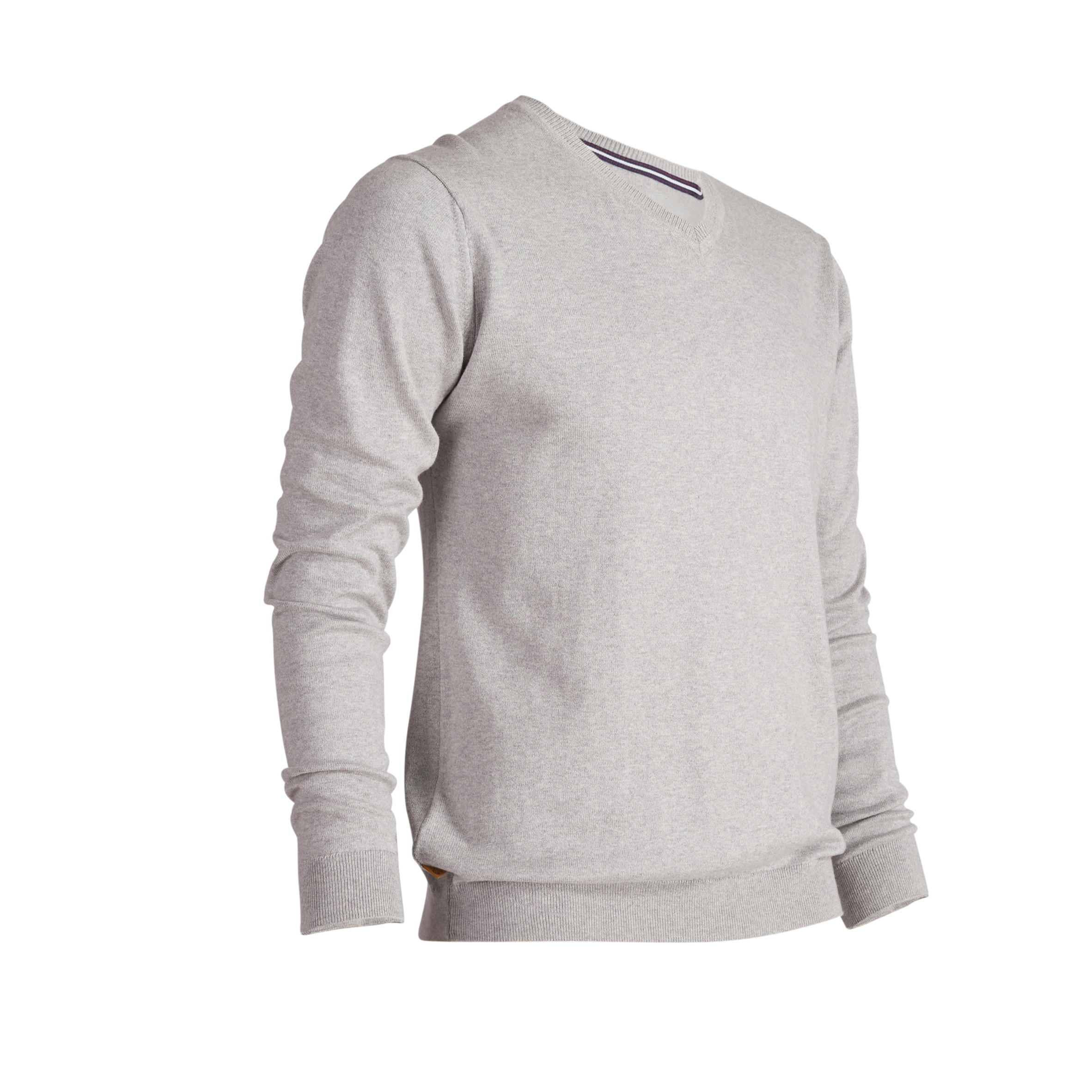 CHANDAIL GOLF HOMME 500 GRIS chiné