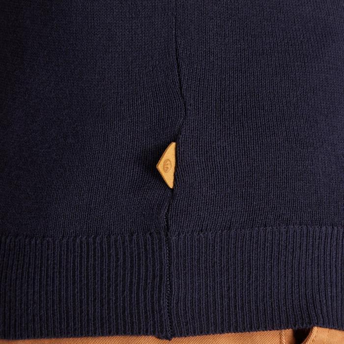 Golf Pullover V-Ausschnitt kühles Herren marineblau
