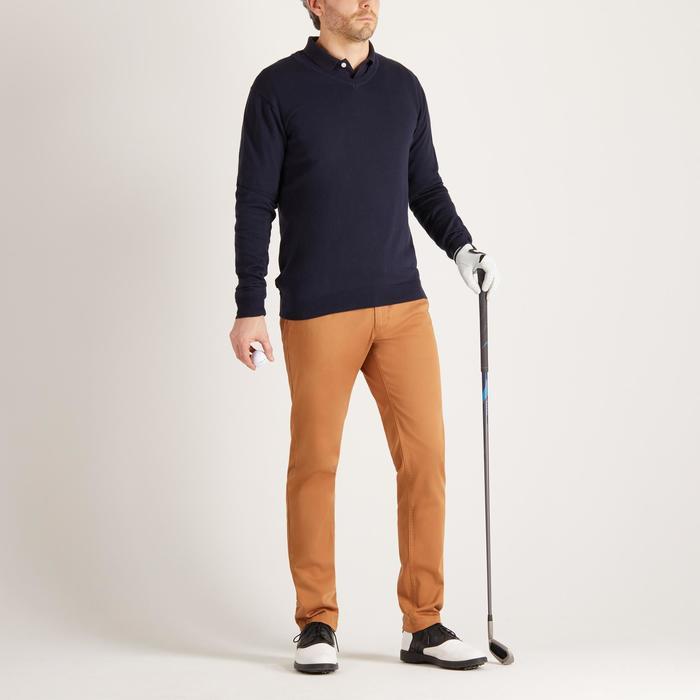 500 男士高爾夫運動衫 - 海軍藍