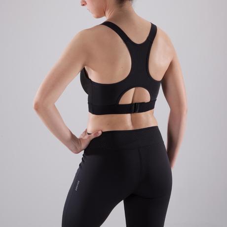 Brassière bonnets profonds cardio fitness femme noire 500. Previous. Next bf1981b0a13