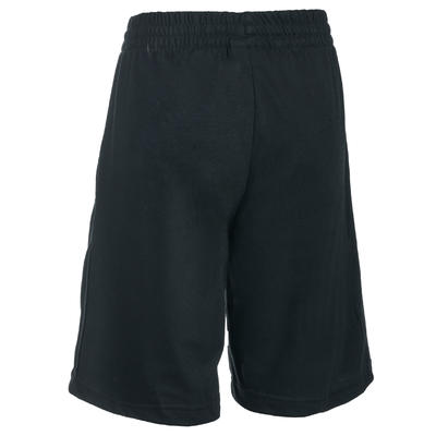Short Fitness garçon noir