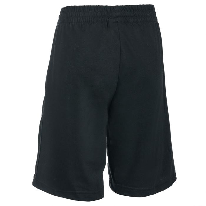 Short Fitness garçon noir - 1489569